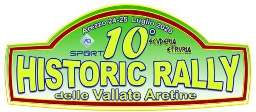 Al Palasport Estra arriva il 10° Historic Rally delle Vallate Aretine