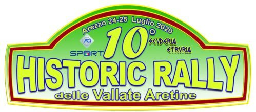 10° Historic Rally Vallate Aretine