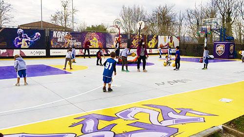 Il Playground Kobe Amen invaso dal Minibasket Nova Verta